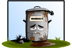 Mandager er søppel!