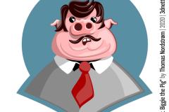 Mr.Biggie the pig