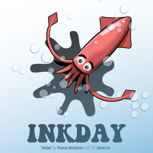 Inkday, laget i Inkscape